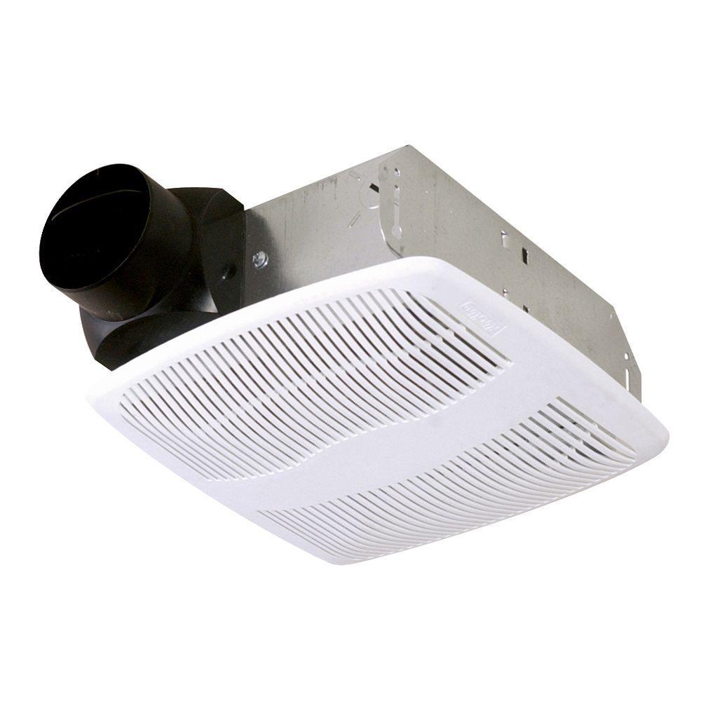 Bathroom Exhaust Fan nutone 50 cfm wall/ceiling mount exhaust bath fan-696n - the home