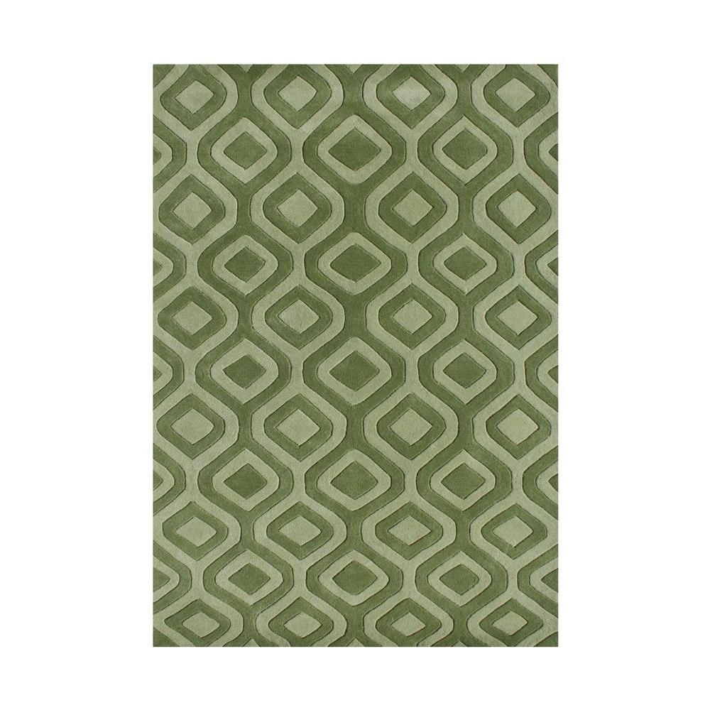 Turf Green 8 Ft X 10 Ft Handmade Area Rug 60098 8x10