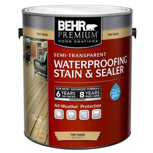 1 gal. Semi-Transparent Waterproofing Stain and Sealer