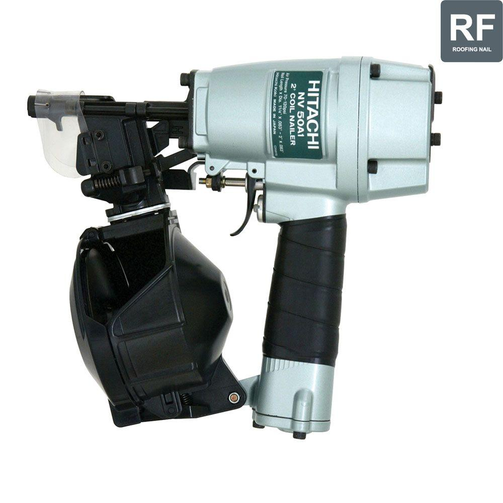 Hitachi 2 in. Coil Utility Nailer