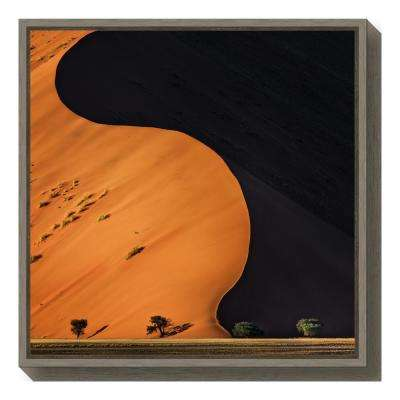 """""""light and shadow"""" by Piet Flour Framed Canvas Wall Art"""