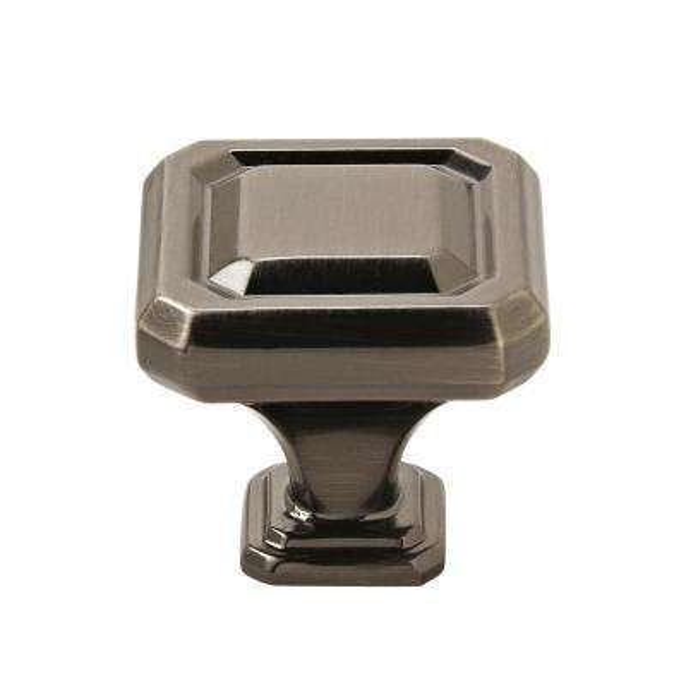 Wells 1-1/4 in (32 mm) Length Gunmetal Cabinet Knob