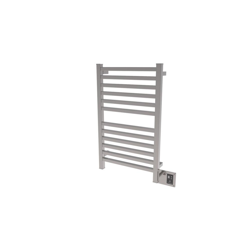 Quadro 20.5 in. W x 33.25 in. H 12-Bar Towel Warmer