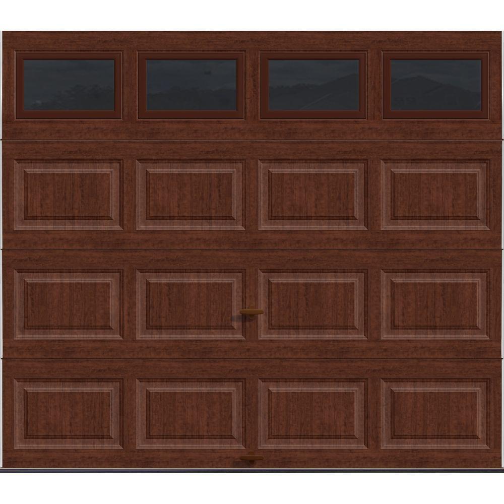 Clopay premium series 8 ft x 7 ft 18 4 r value for Buy clopay garage doors online