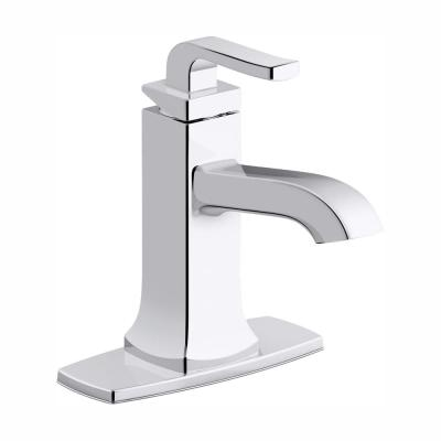 Rubicon Single Hole Single-Handle Bathroom Faucet in Polished Chrome