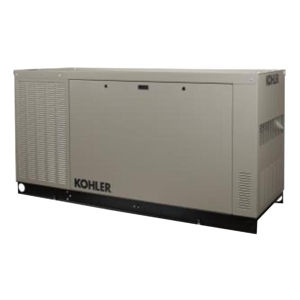 KOHLER 48,000-Watt Liquid Cooled Standby Generator