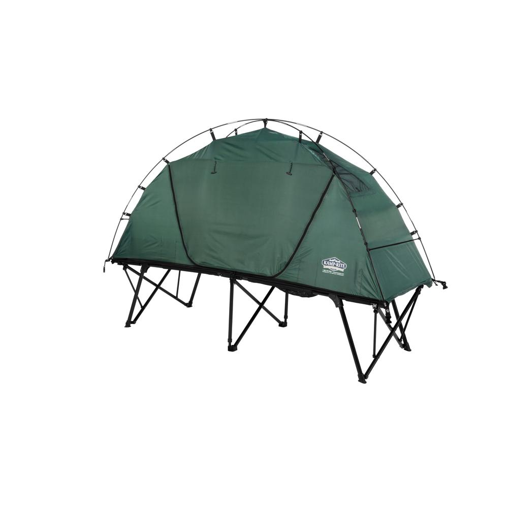 KAMP-RITE TENT COT INC 1 Person Tent Cot  sc 1 st  The Home Depot : tent with cot - memphite.com