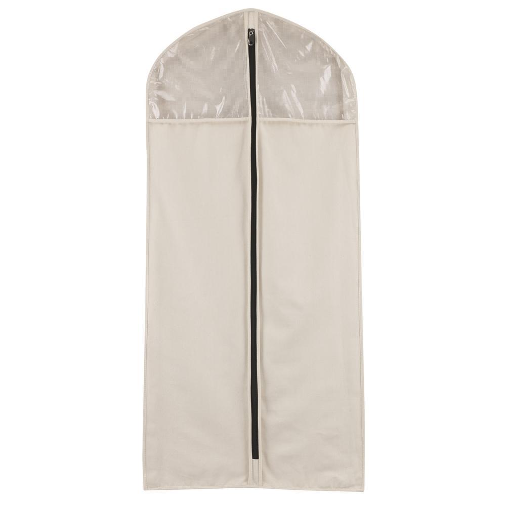 Cotton Canvas Suit Protector Hanging Organizer