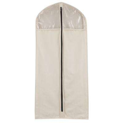 Cotton Canvas Suit Protector Hanging Organizer