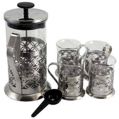 Trellise 5-Piece Coffee Press Set