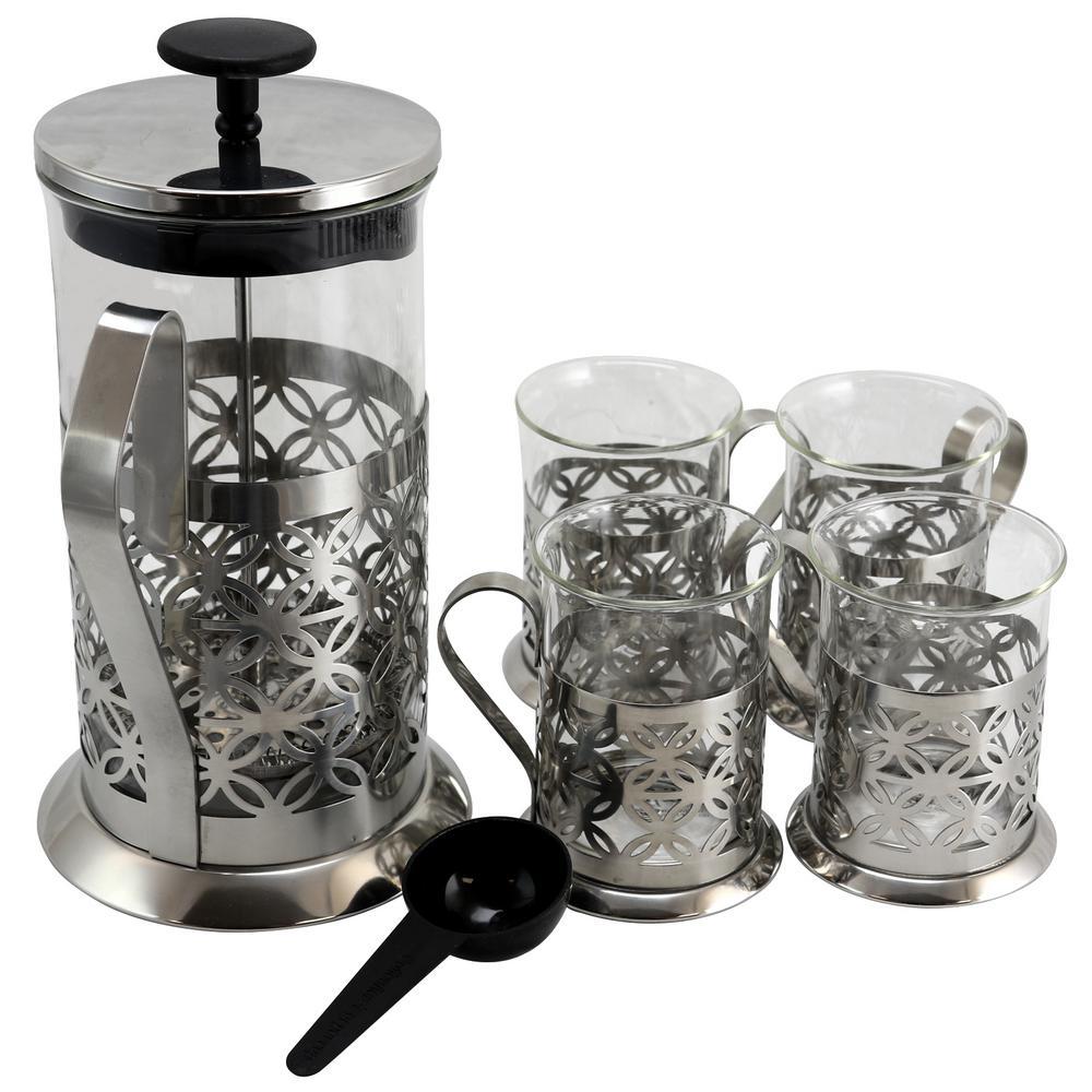 Trellise 5-Piece Coffee Press Set