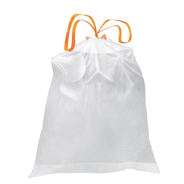FlexPro 13 Gal. Reinforced Top Drawstring Kitchen Bags (300-Count)