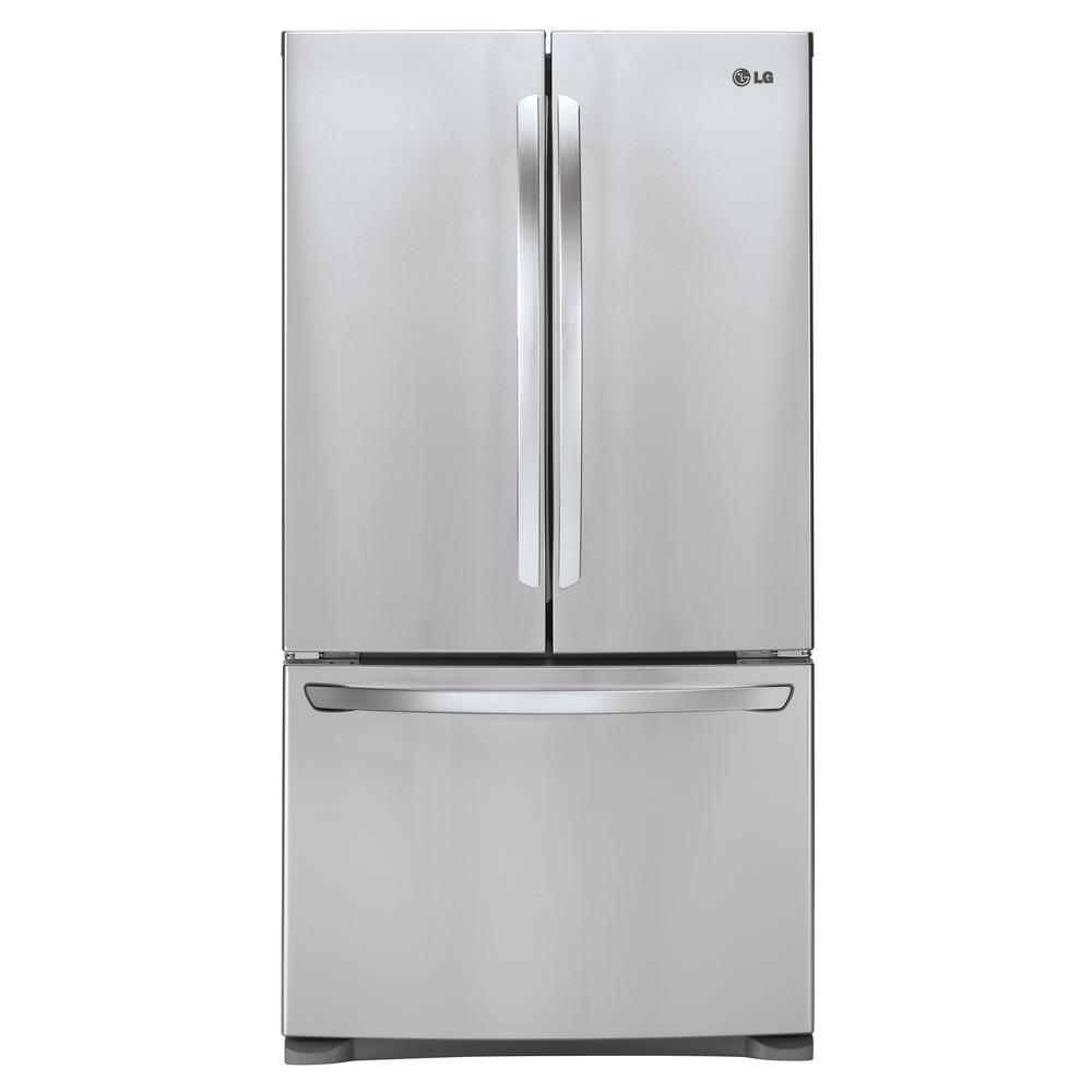 French Door Refrigerators: Samsung 30 In. W 21.8 Cu. Ft. French Door Refrigerator In