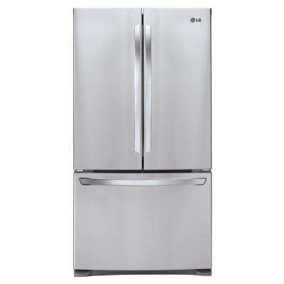 27.9 cu. ft. French Door Refrigerator in Stainless Steel