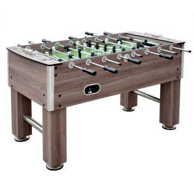 Driftwood 56 in. Foosball Table