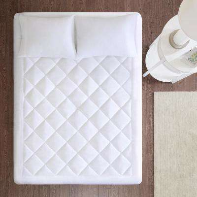 Harmony 18 in. Queen Polyester Mattress Pad