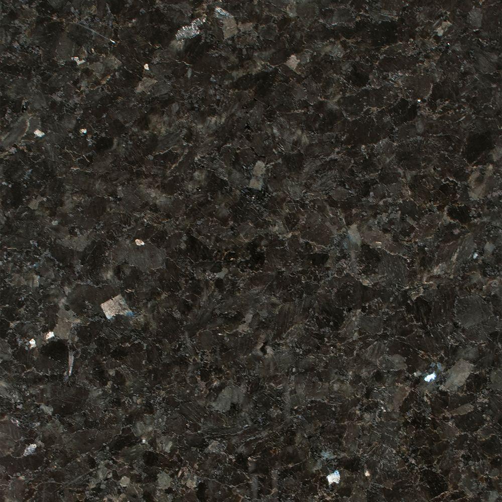 Stonemark Granite 3 in. Granite Countertop Sample in Emerald Pearl