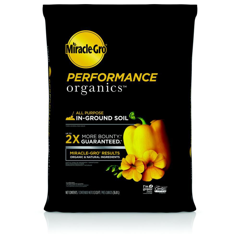1.3 cu. ft. Performance Organics All Purpose In-Ground Garden Soil