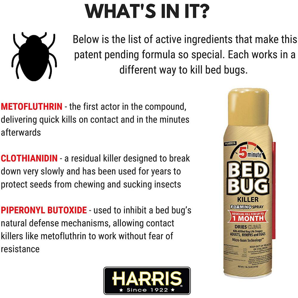 Harris King Bed Bug Mattress Cover And Bed Bug Spray Value Pack Matt Kvp The Home Depot
