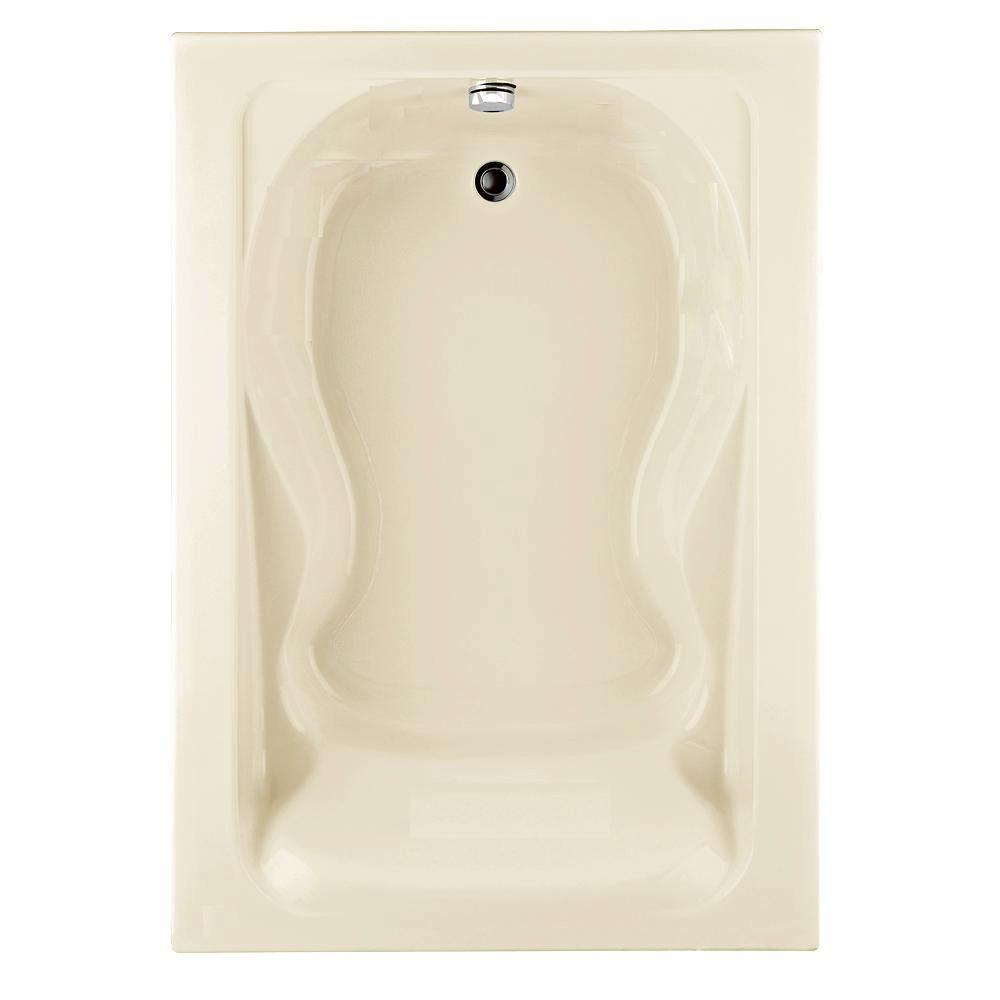 Cadet 5 ft. x 42 in. Reversible Drain Soaking Bathtub in