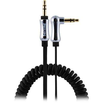 3 ft. Coiled 3.5 mm to 3.5 mm 0.9M Audio Cable