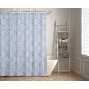 Lexi 70 In Contemporary Geometric Design Shower Curtain
