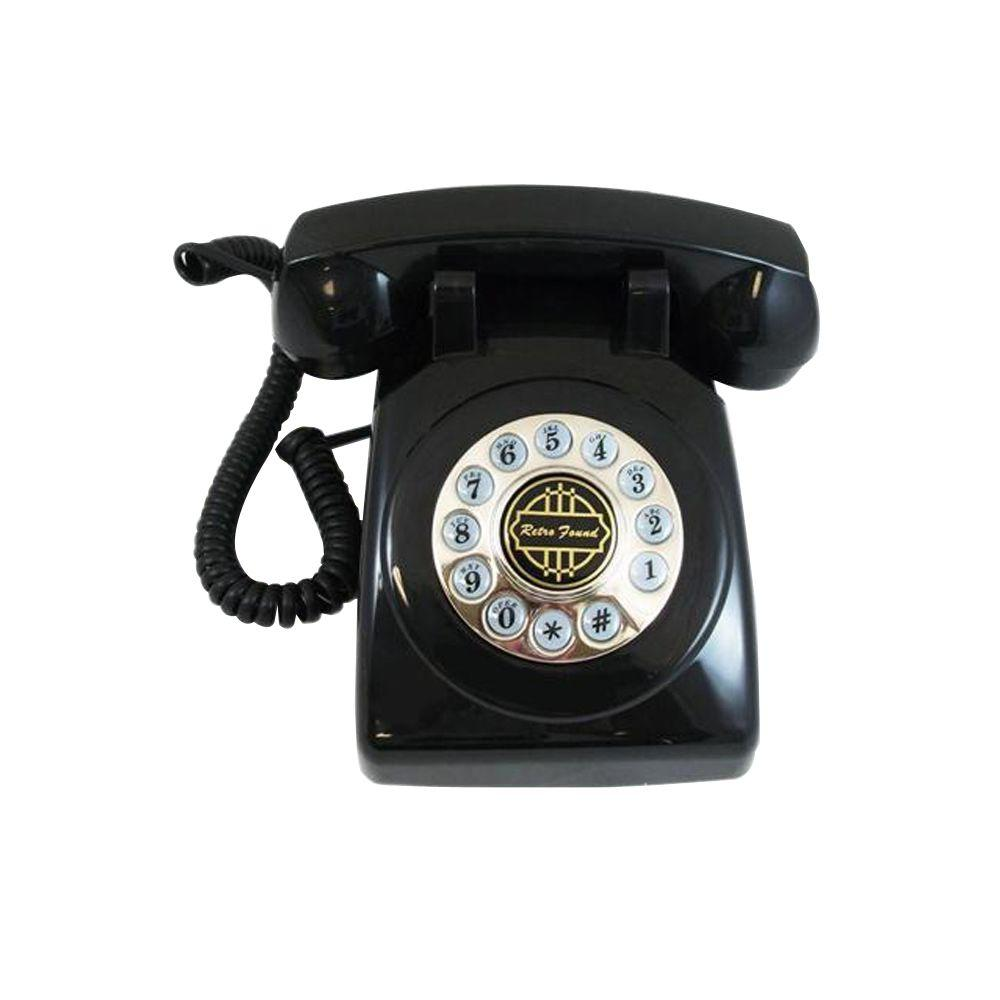 Paramount Og Corded 1950 Desk Phone With Faux Rotary Dial