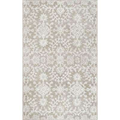 Orosco Beige 5 ft. x 8 ft. Area Rug