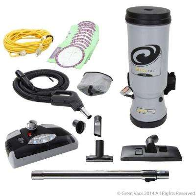 10 Qt. Backpack Vacuum Cleaner with Power Nozzle and Pro Kit Attachment Set