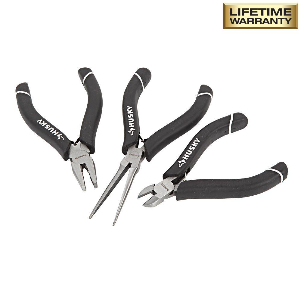Precision Pliers Set (3-Pieces)