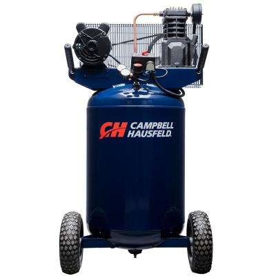 30 Gal. Portable Electric 135 PSI 5.5 CFM 2-HP Air Compressor