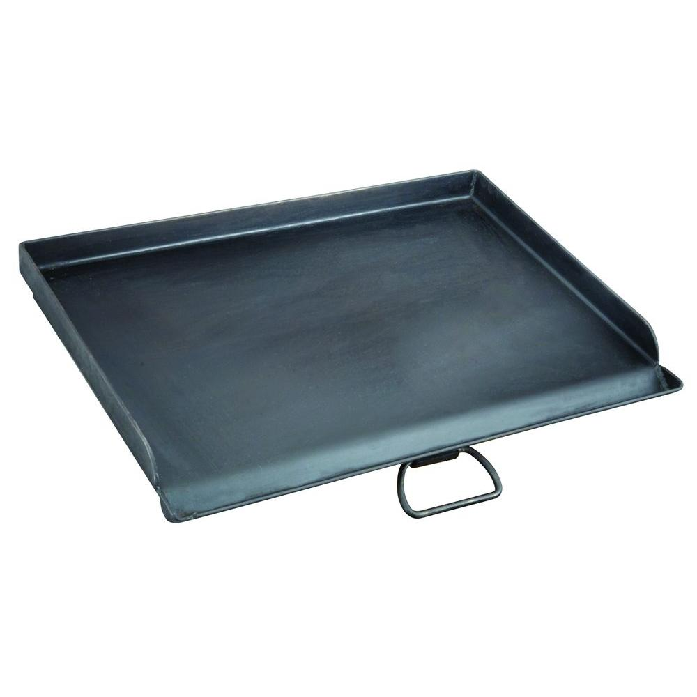 16 in. x 24 in. Seasoned Steel Professional Griddle