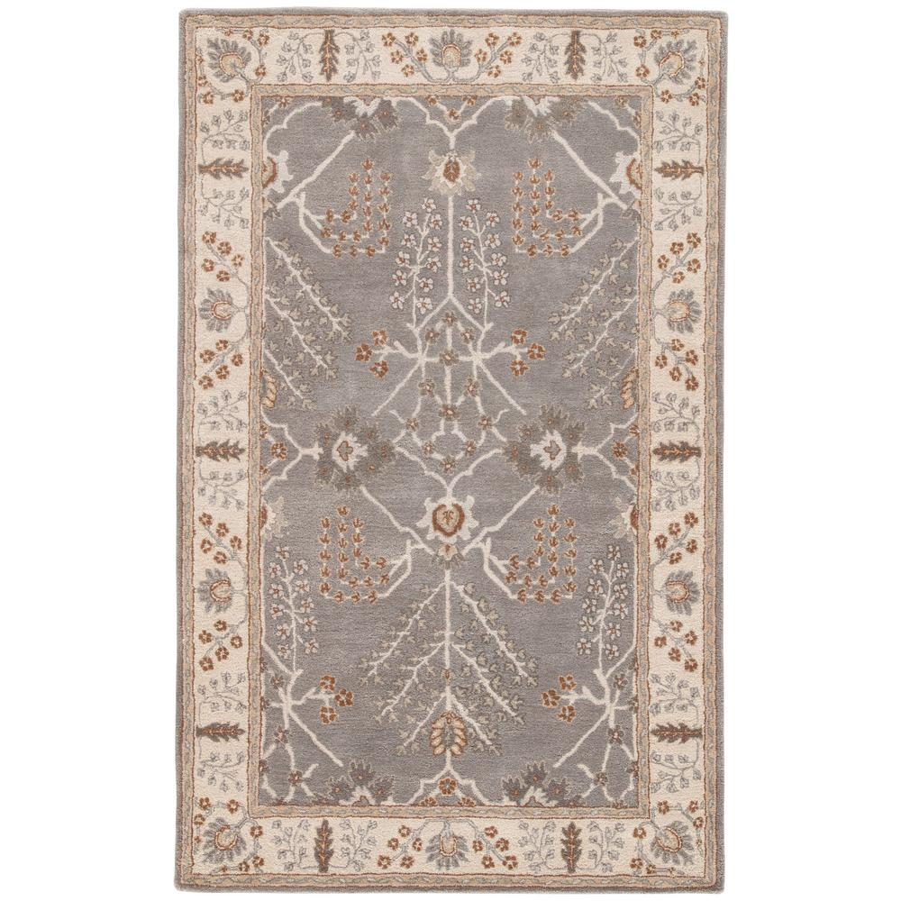 Orian Rugs Patterson Charcoal: Jaipur Rugs Charcoal Gray 2 Ft. X 3 Ft. Oriental Area Rug