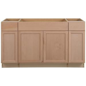 Assembled 60x34.5x24 in. Easthaven Sink Base Cabinet with ...