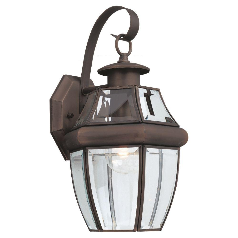 Sea Gull Lighting Products: Sea Gull Lighting Lancaster 1-Light Antique Bronze Outdoor