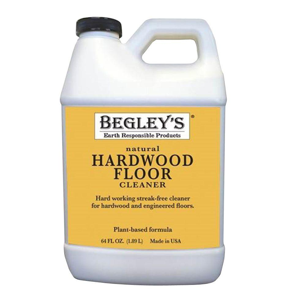 Begley 39 s best 64 oz natural hardwood floor care 2 pack for Hardwood floor cleaner