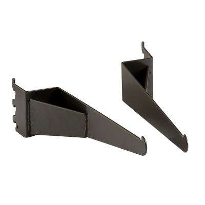 Pipeline Anthracite Gray Shelf Brackets for Outrigger