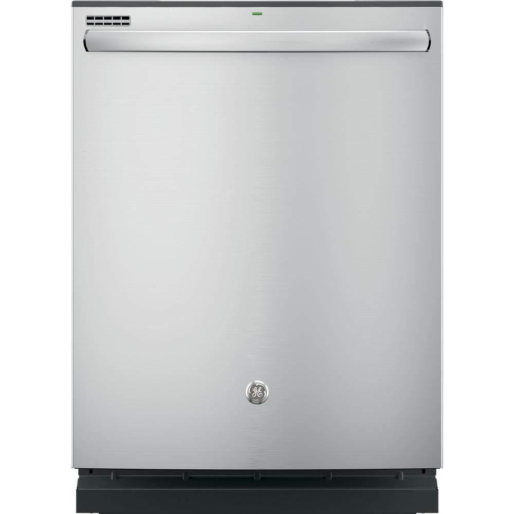 Top Control Built-In Tall Tub Dishwasher in Stainless Steel with Steam
