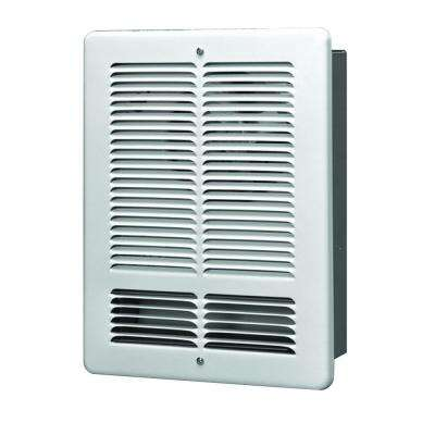 1500-Watt 120-Volt Wall Electric Heater in White