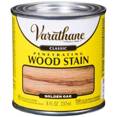 8 oz. Golden Oak Classic Wood Interior Stain (4-Pack)