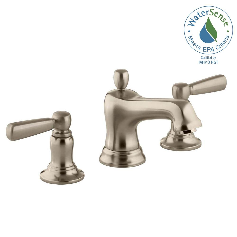This Review Is From Bancroft 8 In Widespread 2 Handle Low Arc Bathroom Faucet Vibrant Brushed Bronze