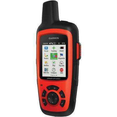 inReach Explorer Satellite Communicator with Maps and Sensors