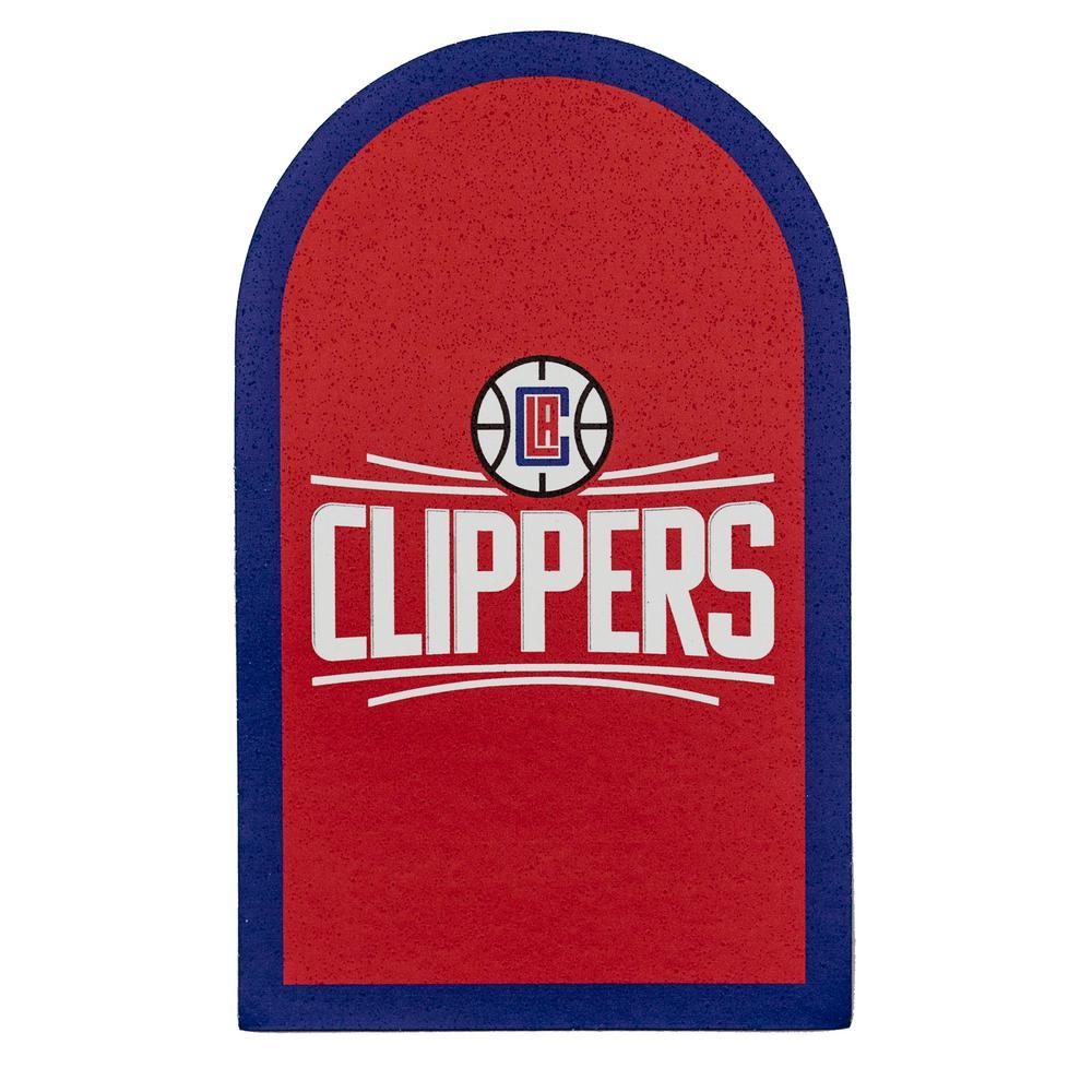 NBA Los Angeles Clippers Mailbox Door Logo Graphic