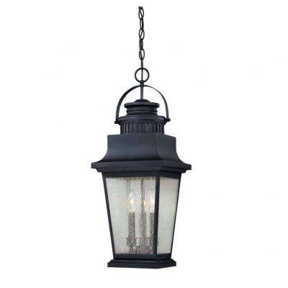 Tony 3-Light Slate Outdoor Hanging Lantern