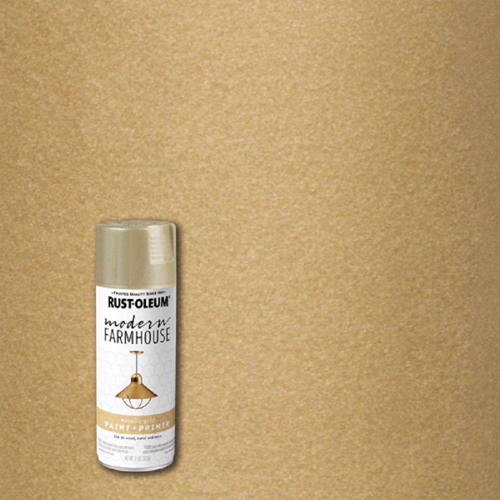 11 oz. Metallic Gold Spray Paint