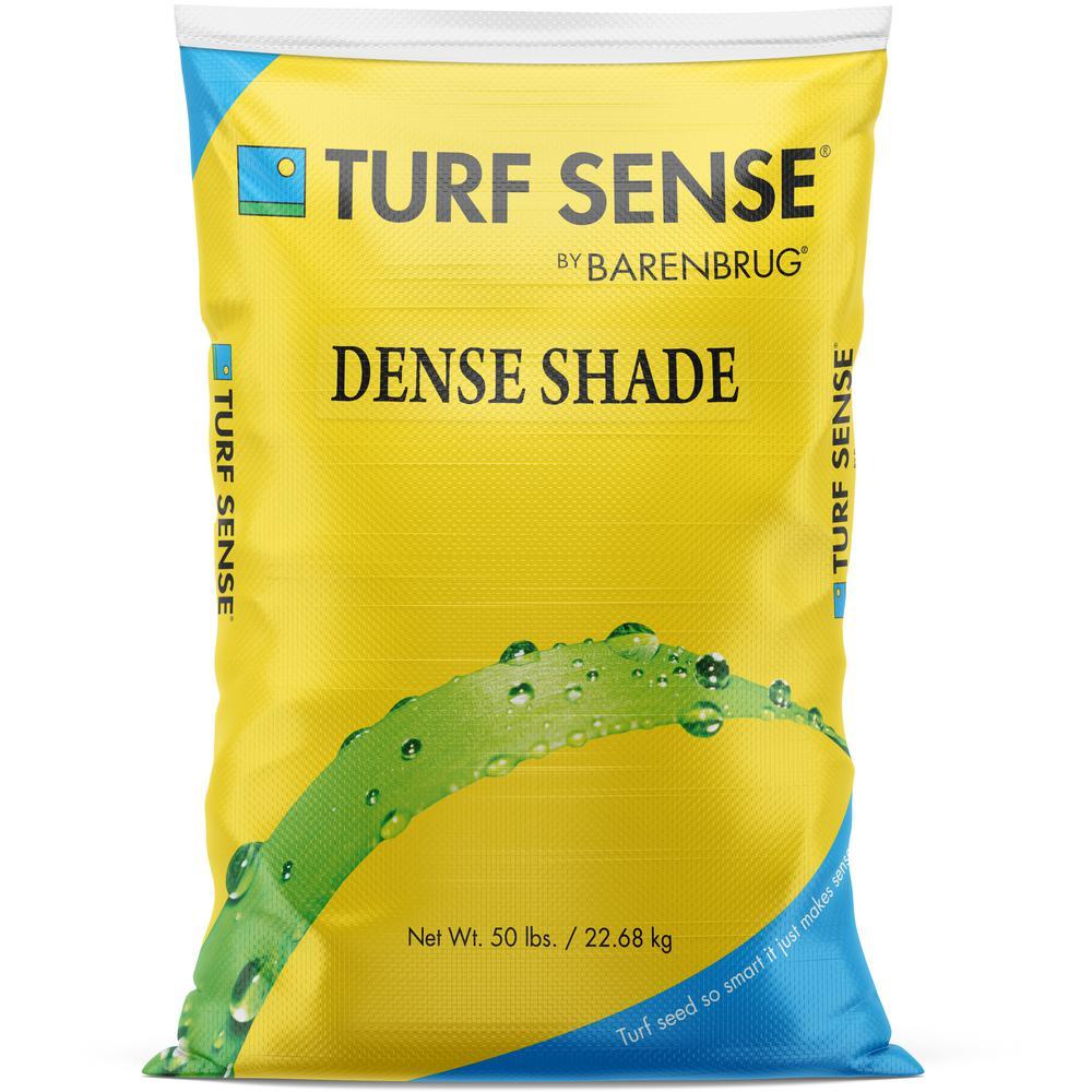 50 lbs. 10,000 sq. ft. Turf Sense Dense Shade Mix Grass Seed