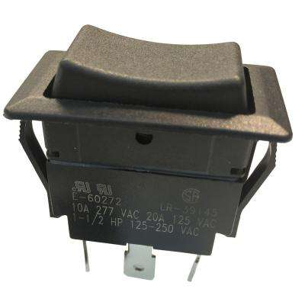 Rocker Switch DPDT On-Off-On 20 Amp 125-Volt (Case of 5)