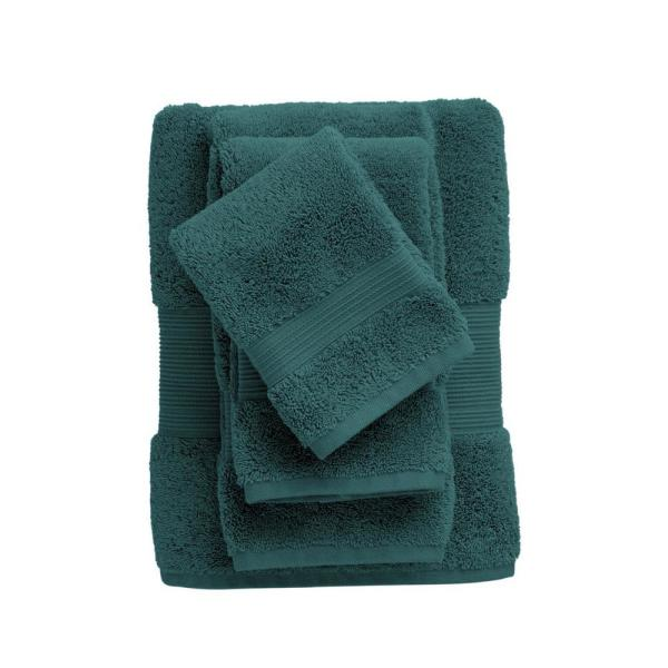 The Company Store Legends Regal Egyptian Cotton Wash Cloth in Forest