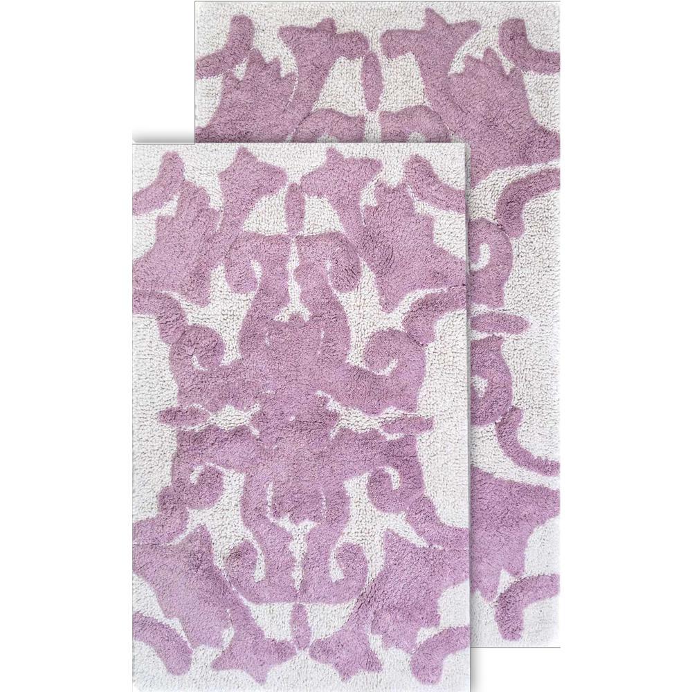 Purple Bath Mats Bedding