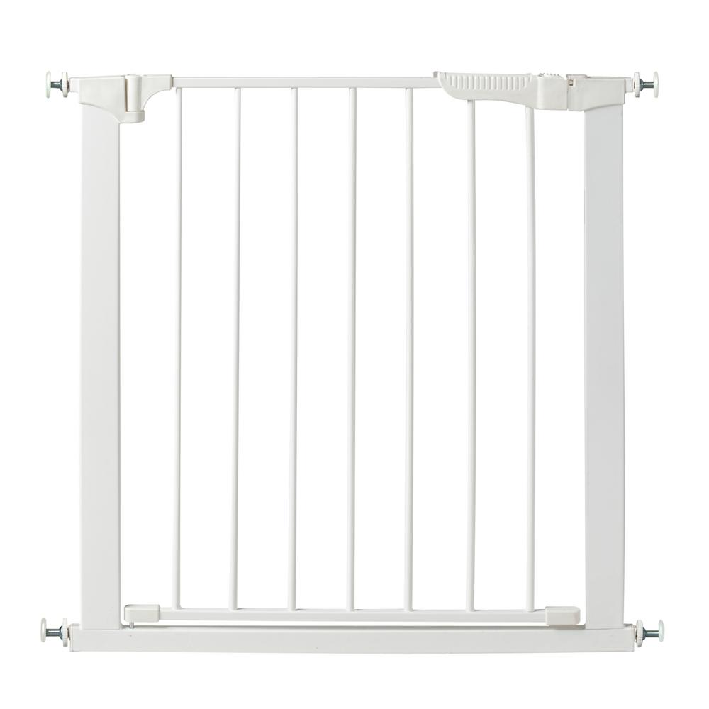 Kidco 29 5 In H Pressure Mount Gate Auto Close Gateway In White
